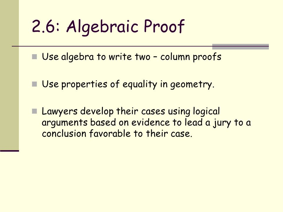 Chapter 2 Reasoning and Proof ppt download – Algebraic Proofs Worksheet