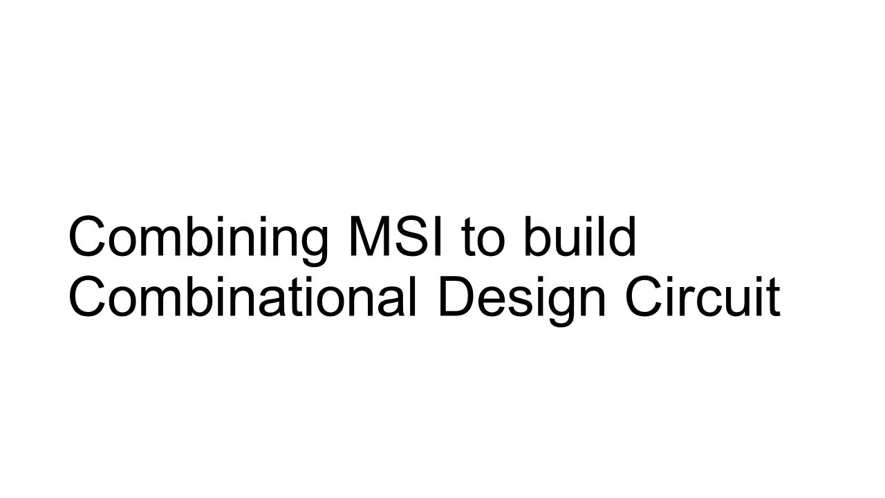 msi circuits