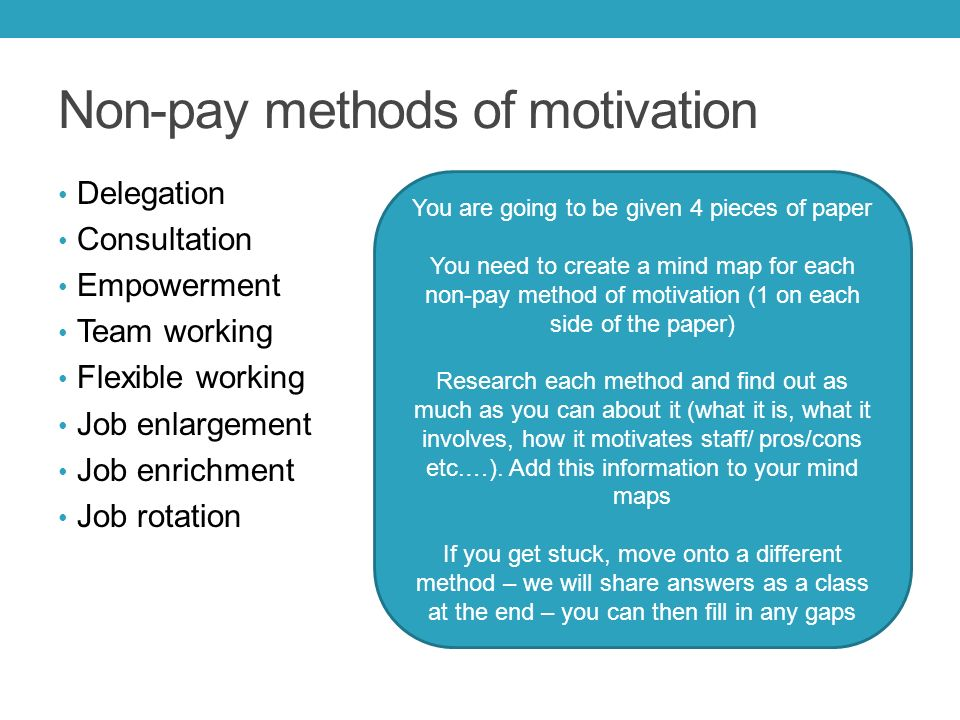 non financial employee motivational factors and The role of non-financial recognition is based on increasing the motivation of the employee however, the recent non-monetary factors are crucial for retaining employees within an organisation cooper et al (2011) thinks that organisation cannot afford to motivate every employee on monetary basis, as it will cause effect on the budget.