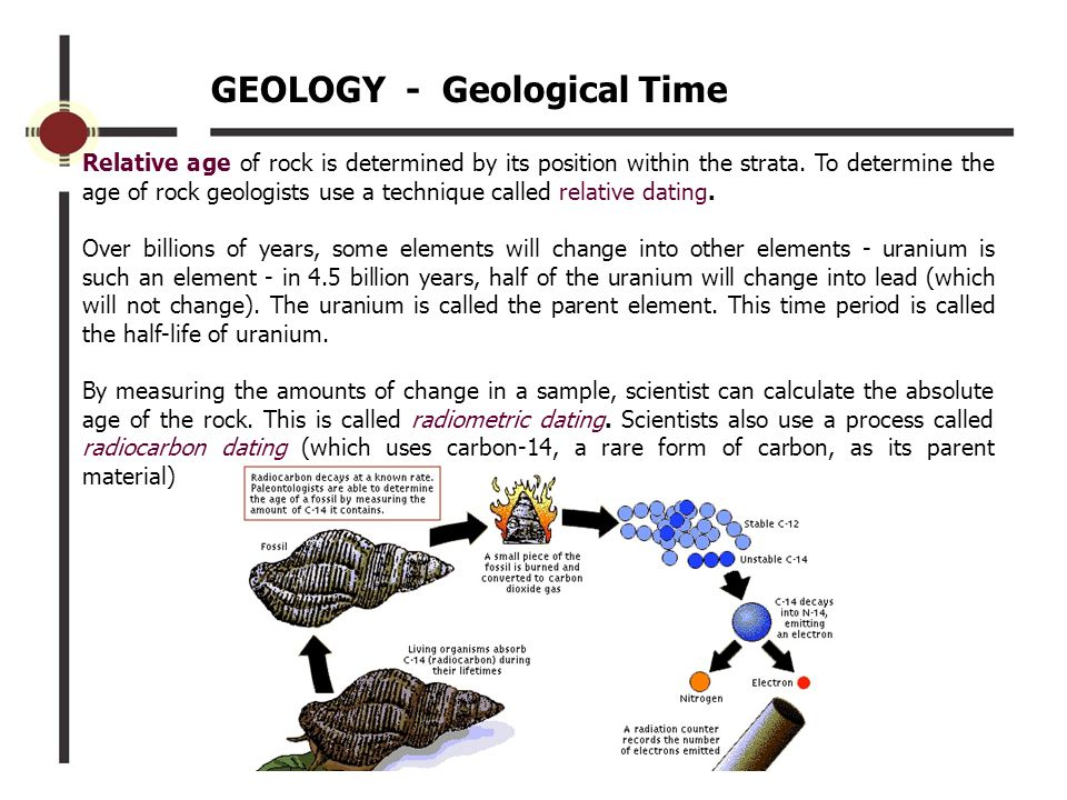 A The Geologist Why Of A Use Carbon Cant To Find Age Rock Hookup certainly not computer