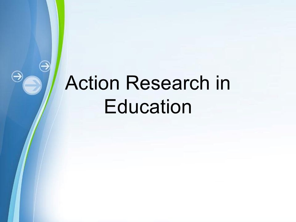 write action research paper education