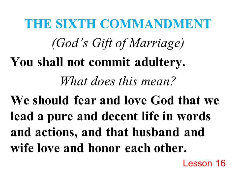 S Gift Of Marriage