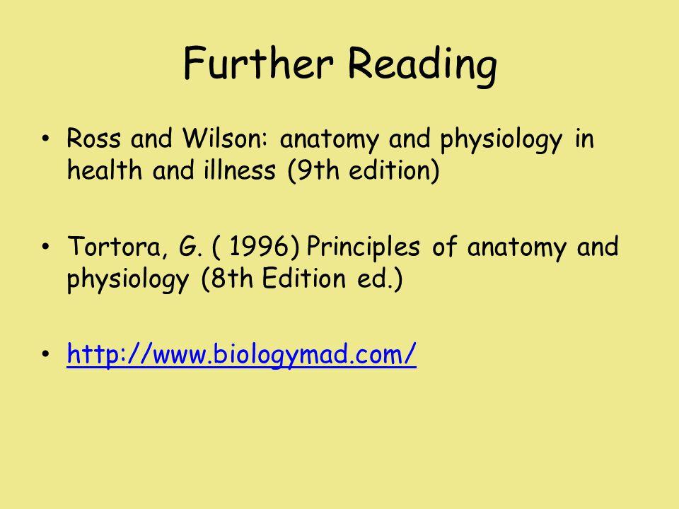 Ziemlich Ross Und Wilson Anatomie Und Physiologie 12. Ausgabe Bilder ...