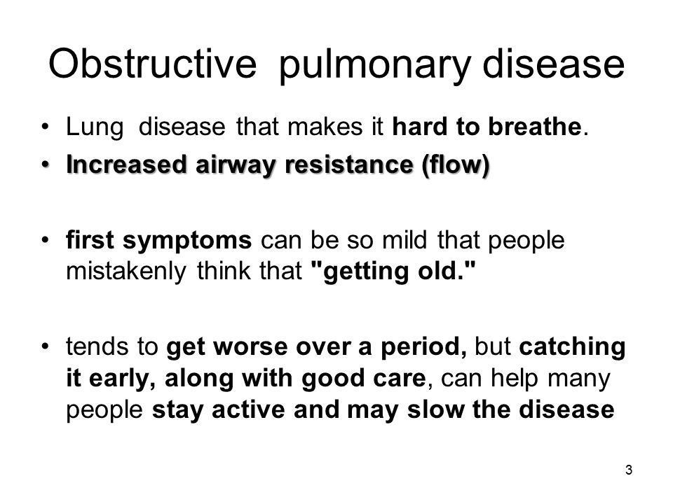 pulmonary disease or lung disease Respiratory diseases are among the leading causes of death worldwide (table 1)  lung infections (mostly pneumonia and tuberculosis), lung cancer and chronic.