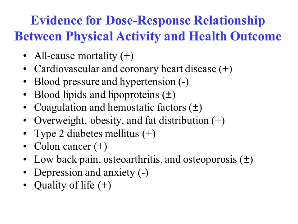 relationship between health physical fitness and exercise