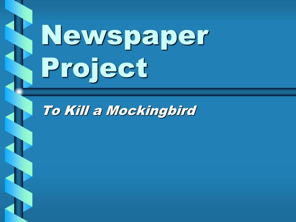 julius caesar newspaper project