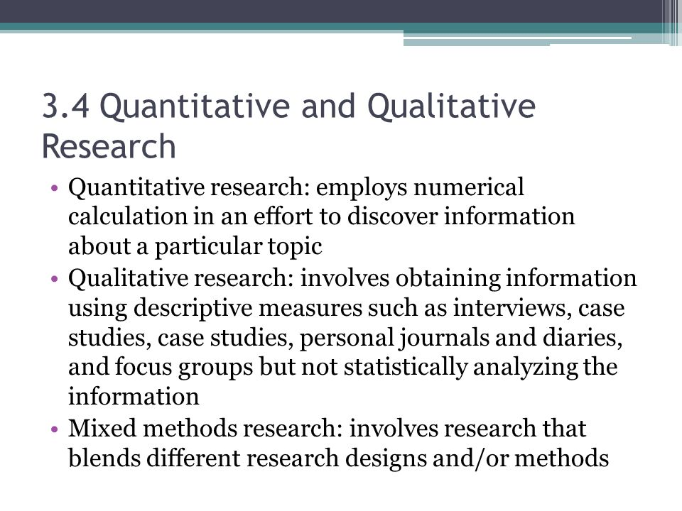 quantitative and qualitative research education essay This free education essay on essay: research methods - qualitative, exploratory, inductive and basic research approaches is perfect for education students to use as an example.