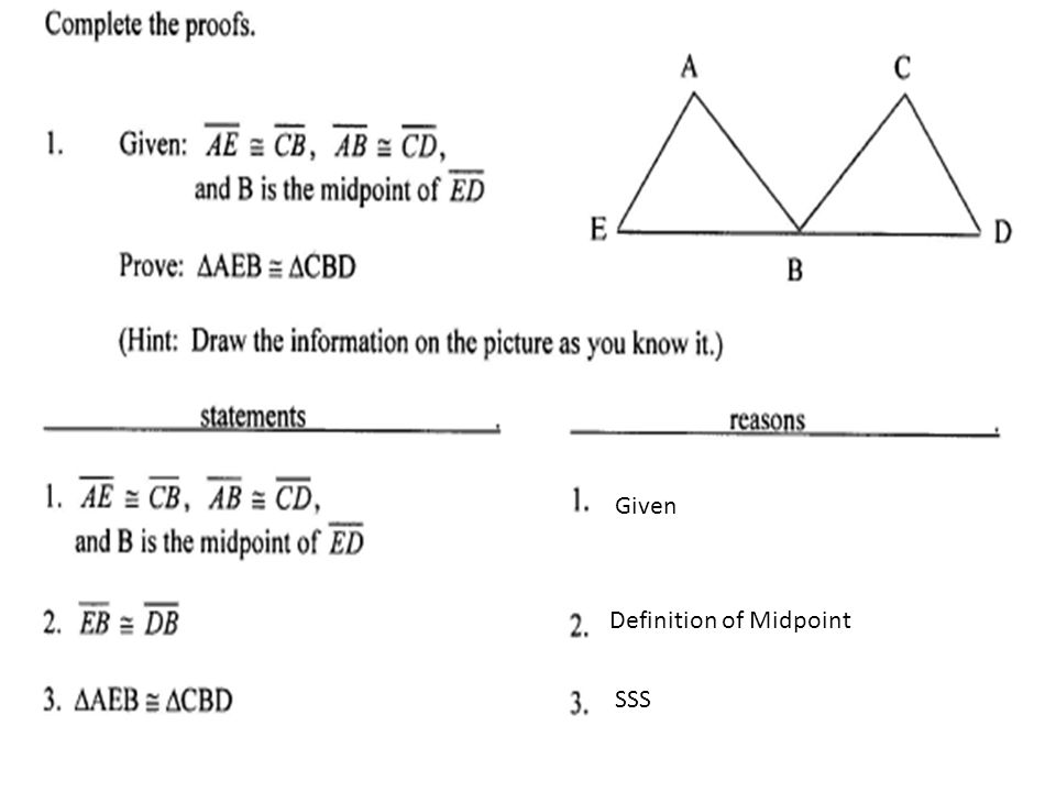 Geometry Worksheets Congruent Triangles 3 ppt download – Geometry Worksheet Congruent Triangles Answers