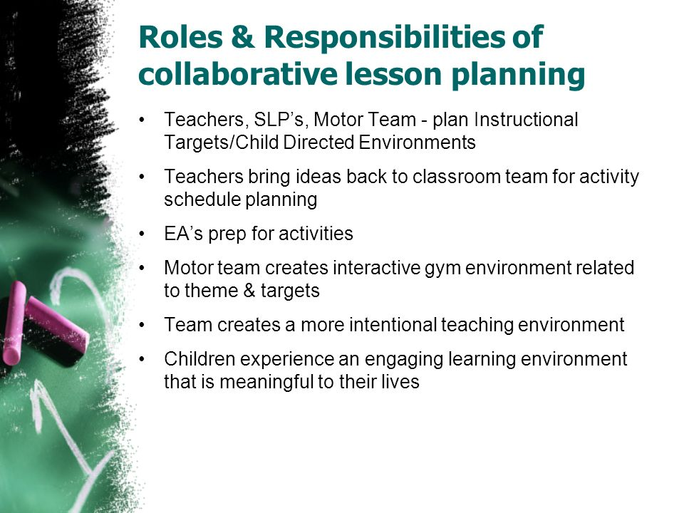 Collaborative Teaching Lesson Plans ~ Creative curriculum where have we been are going