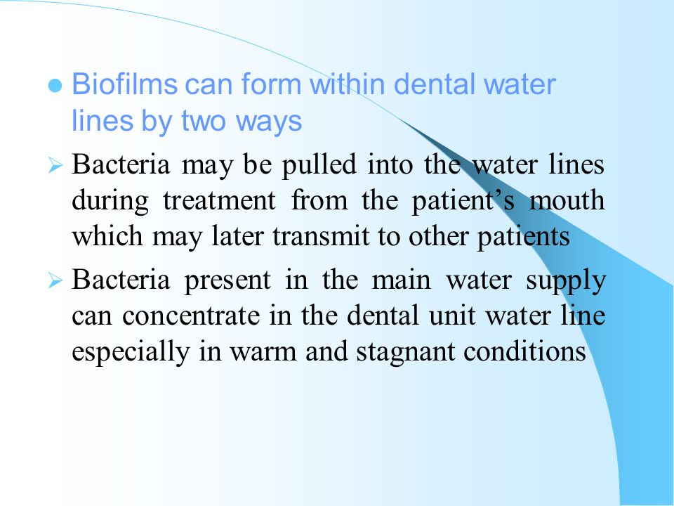 INFECTION CONTROL IN DENTAL PRACTICE - ppt video online download
