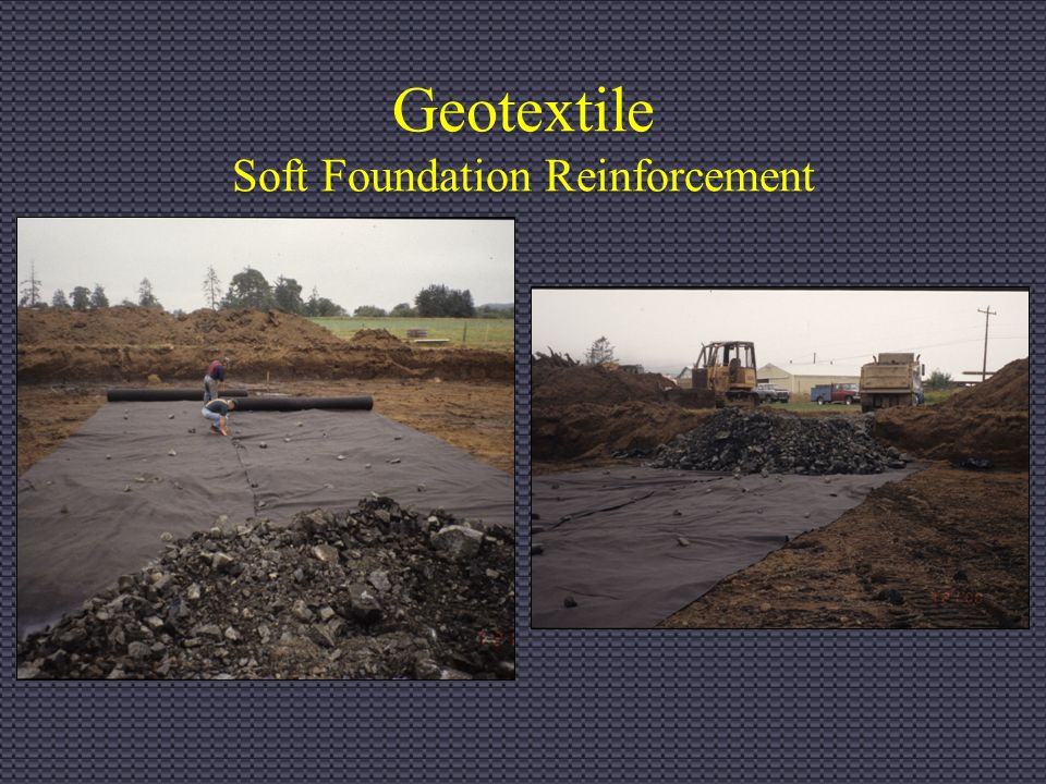 Construction Inspection For Fo Activities Geosynthetics