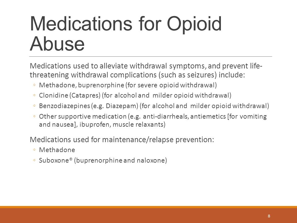 Clonidine For Opiate Withdrawal Does It Work