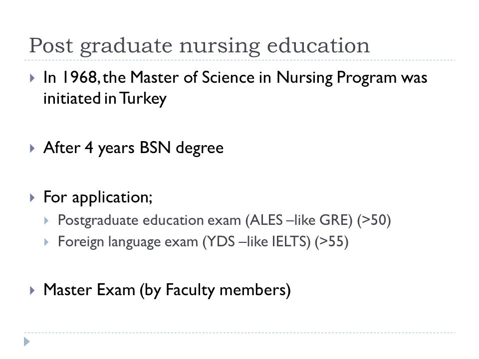 Postgraduate study in nursing | Study in Australia