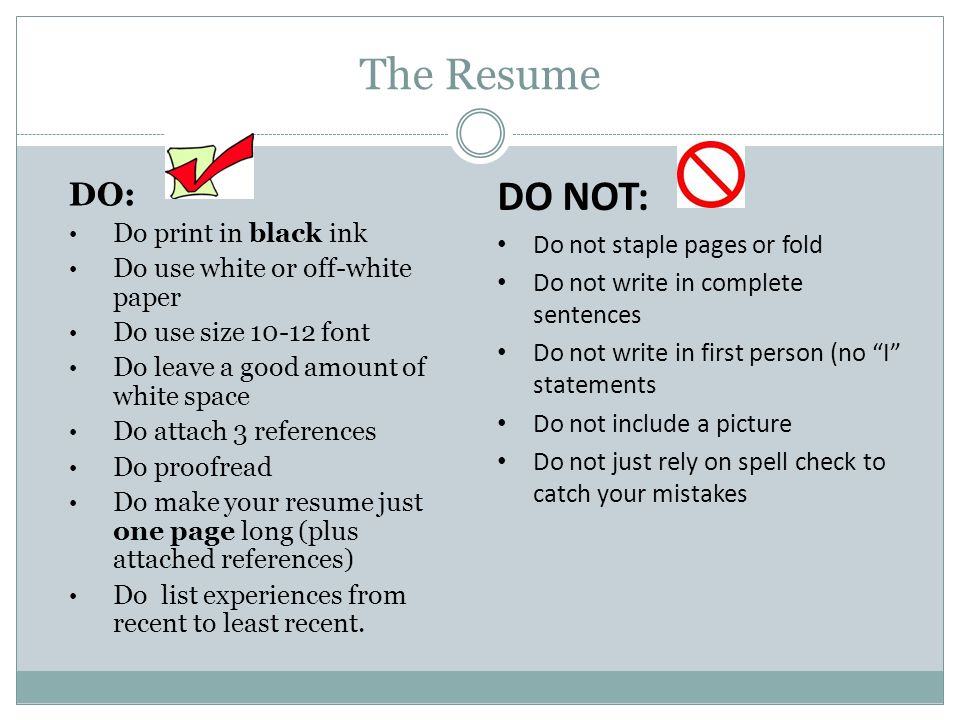 Resumes  Ppt Video Online Download