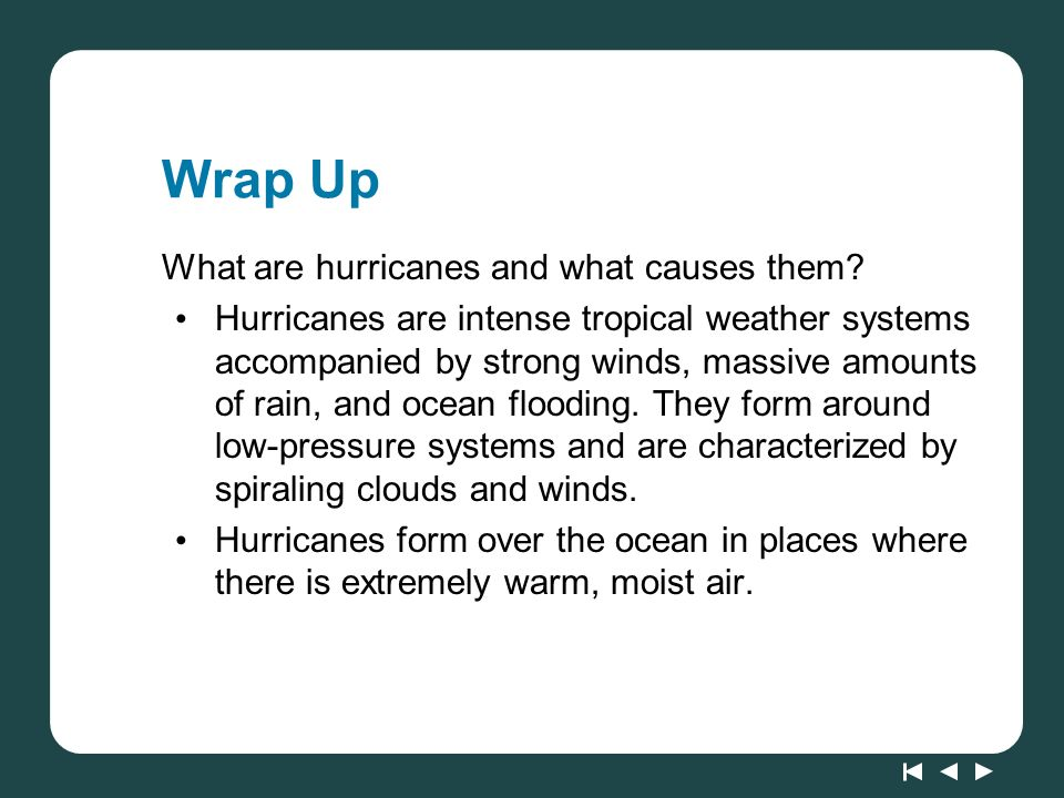Lesson 67: Hurricane! Extreme Physical Change. - ppt download
