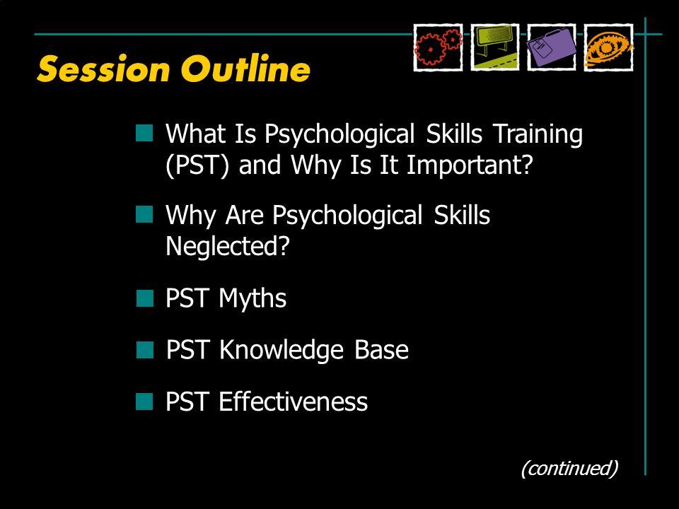 psychological skills training program template