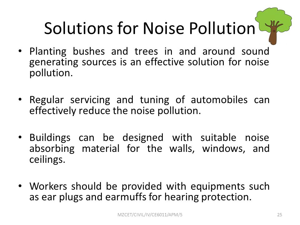 Mount zion college of engineering and technology ppt for How to reduce noise from windows