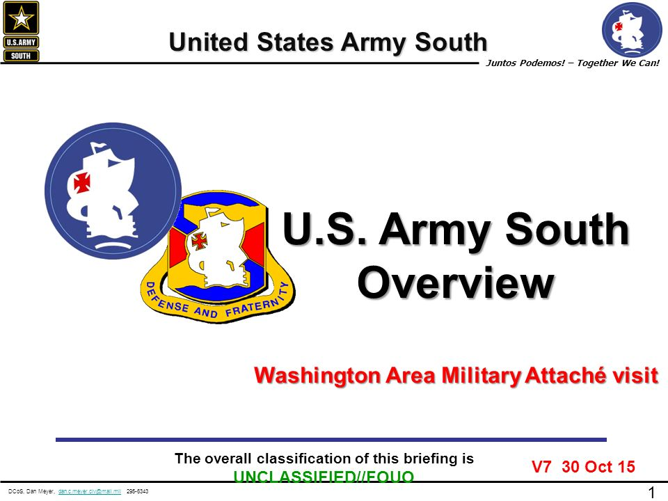 Us army south overview united states army south ppt download us army south overview united states army south toneelgroepblik Images