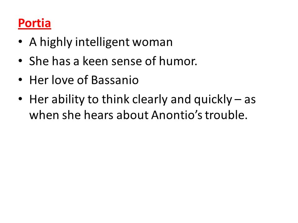 merchant of venice portia and bassanio relationship tips