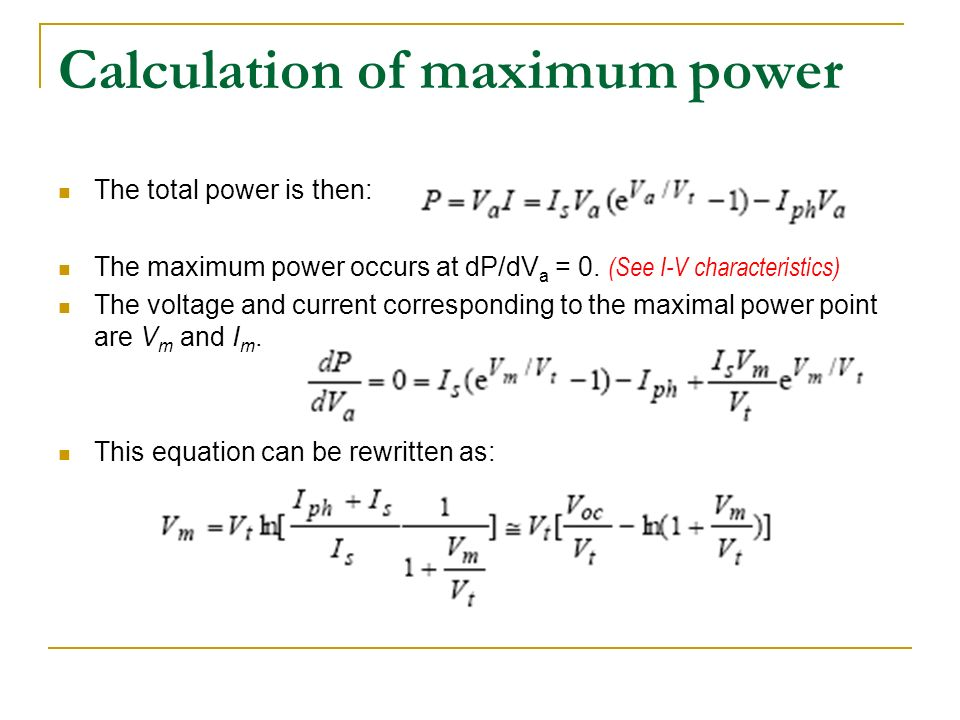 calculation of power An example to demonstrate required pump power calculations based on - required pressure drop, given flow rate and estimated pump efficiency.