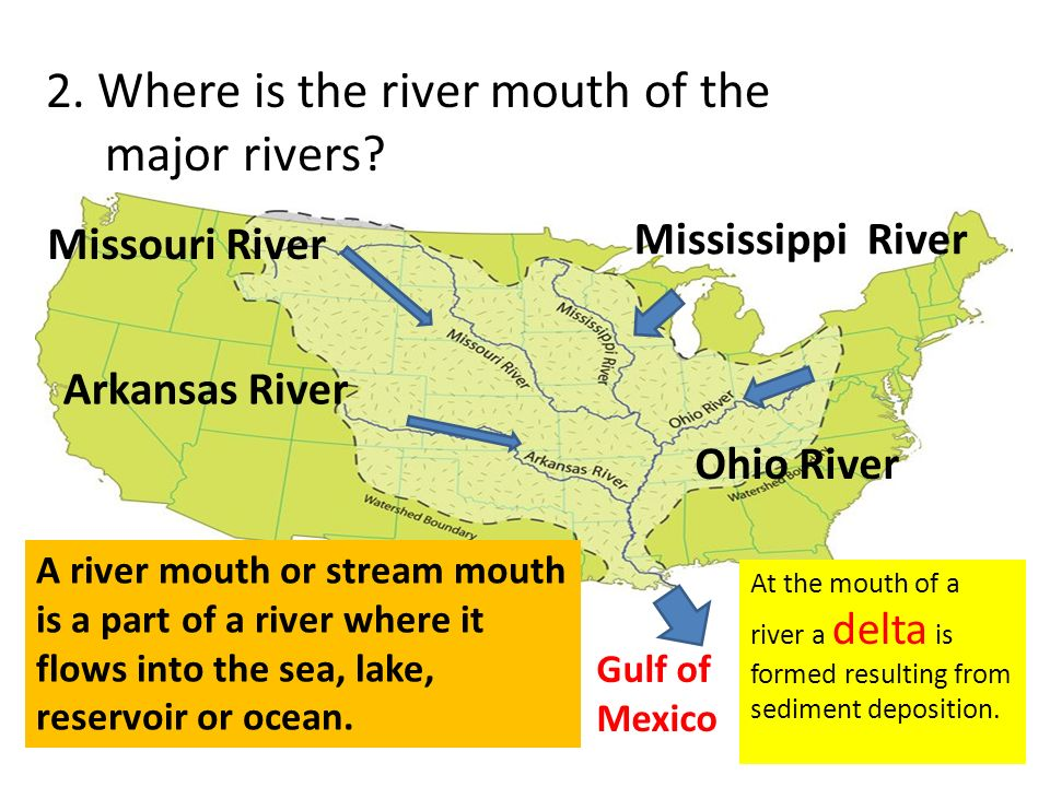 Major Rivers In The United States Ppt Video Online Download - United states major river systems map