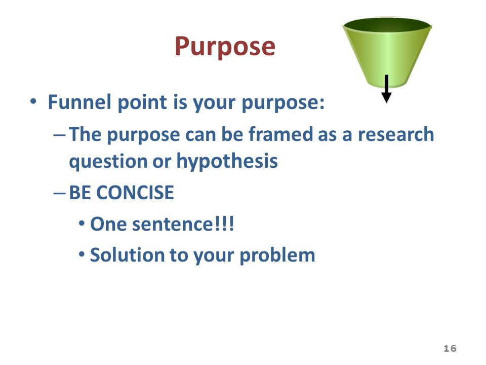 what is the hypothesis or aim of a paper/research project The purpose of this guide is to help you understand how to write a research  paper, term paper, thesis or similar academic papers.
