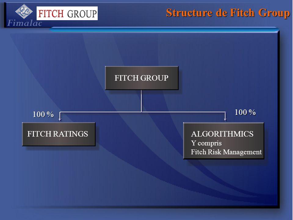 Structure de Fitch Group