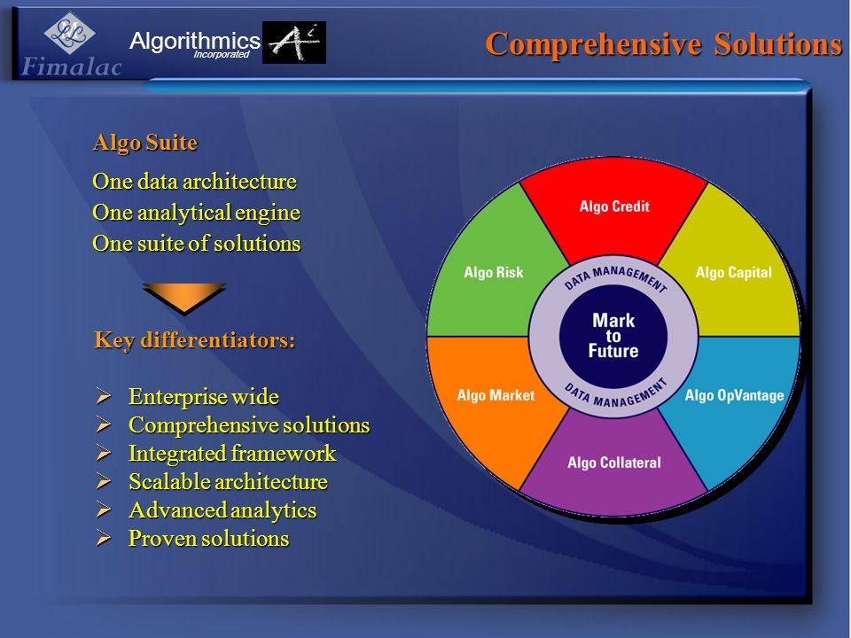 Comprehensive Solutions