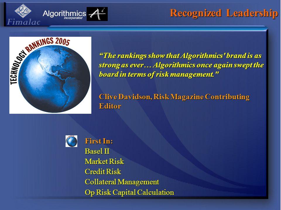 Recognized Leadership