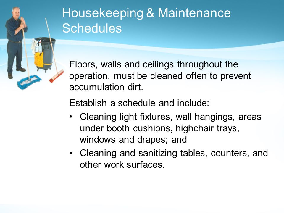 Creating A Clean And Hygienic Foodservice Operation Ppt