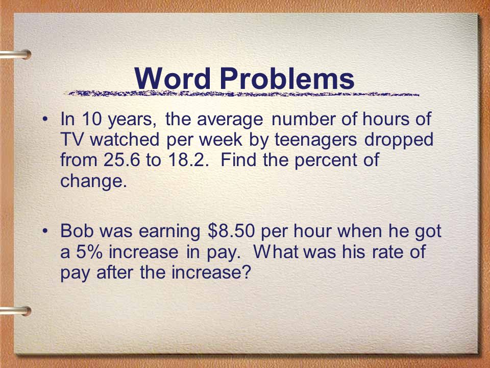 average rate of change word problems pdf
