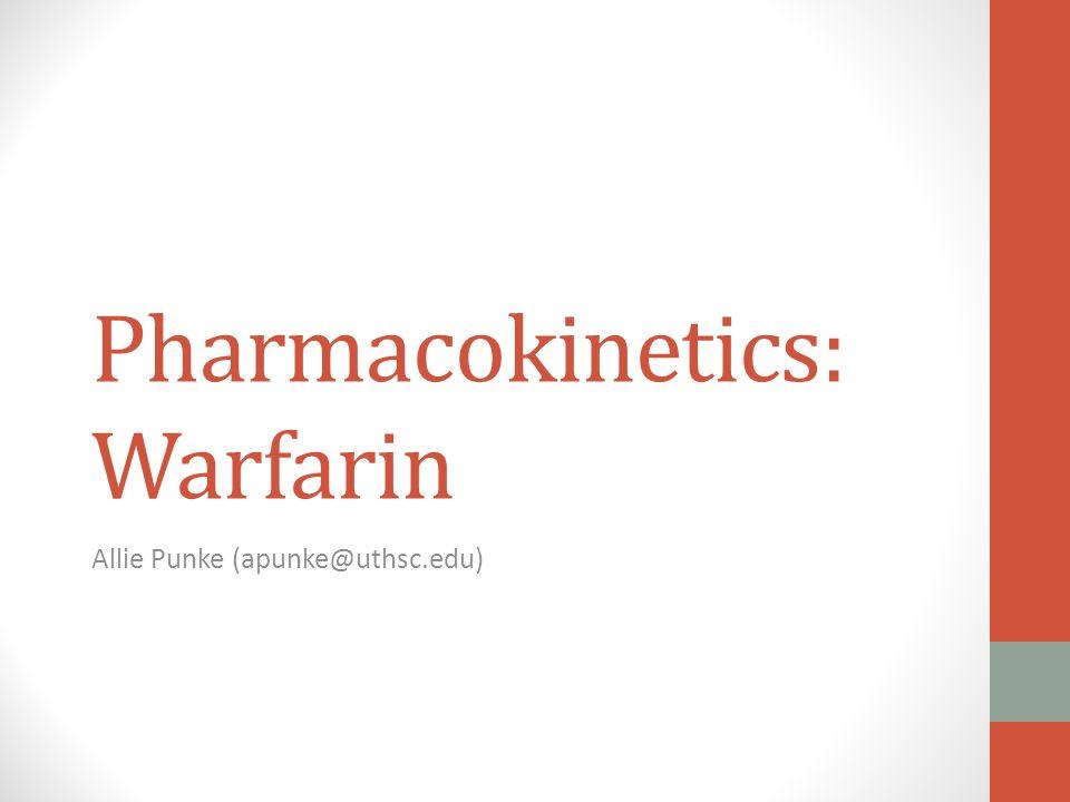 Warfarin fatigue