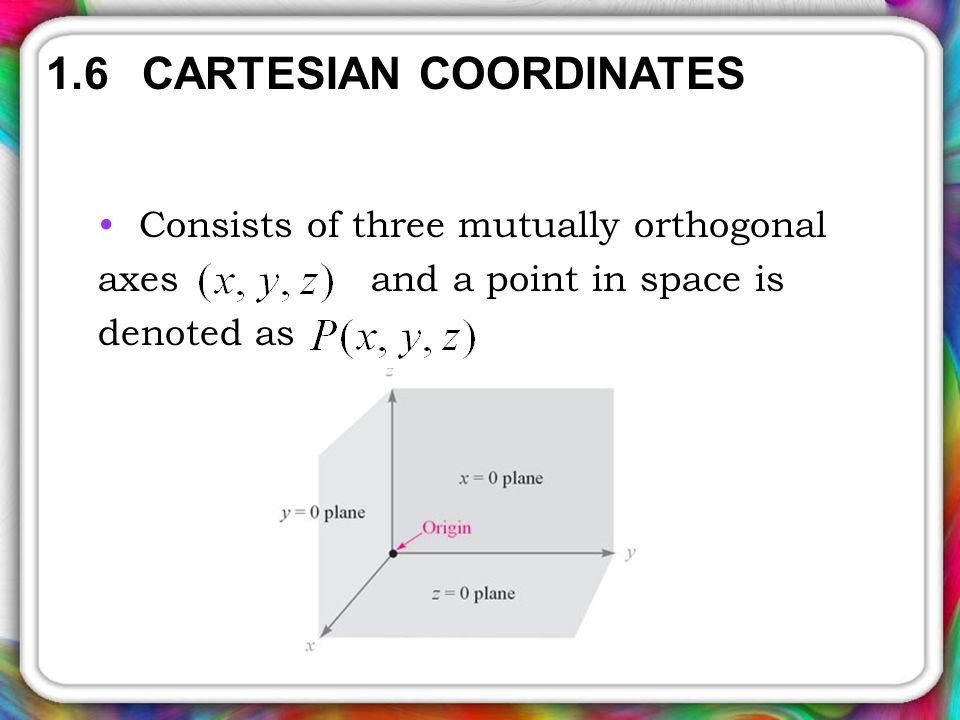 how to show 3 vectors are mutually orthogonal