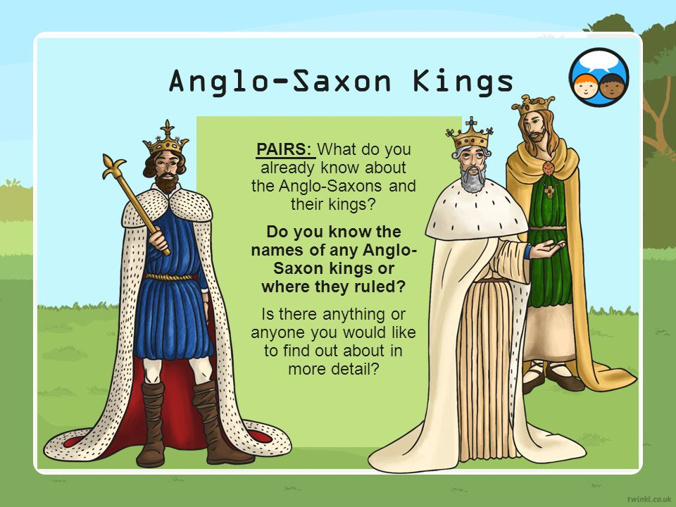 The Old English Period or The Anglo-Saxon Period- (450 ...