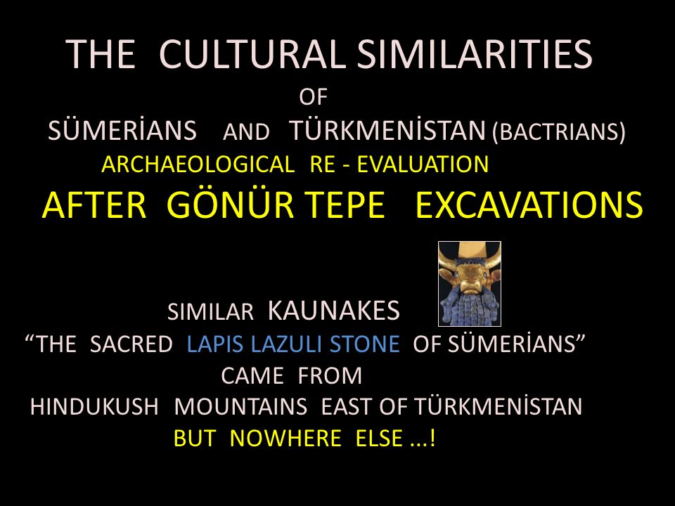 THE CULTURAL SIMILARITIES