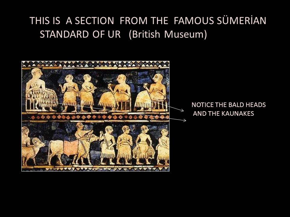 THIS IS A SECTION FROM THE FAMOUS SÜMERİAN