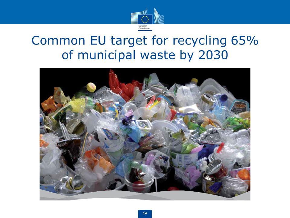 Common EU target for recycling 65% of municipal waste by 2030