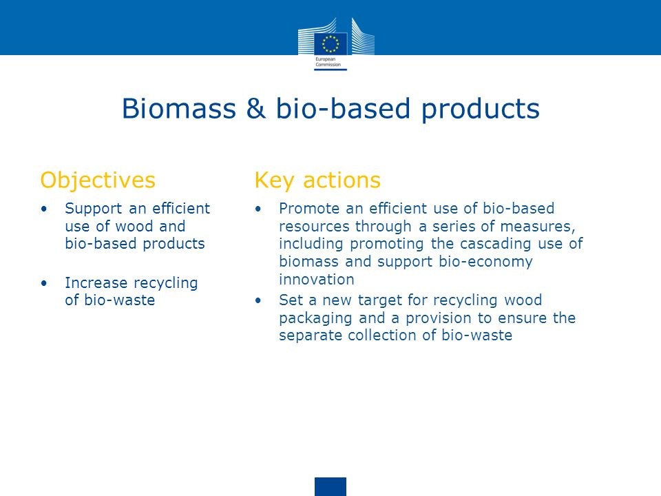 Biomass & bio-based products