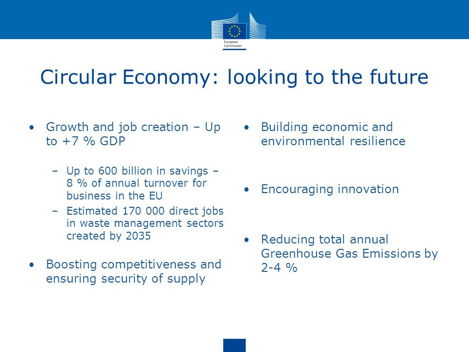 Circular Economy: looking to the future