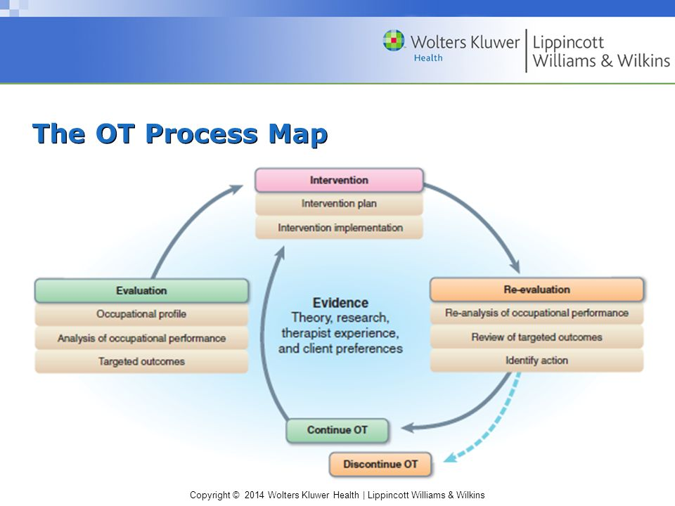 chapter 23  overview of the occupational therapy process