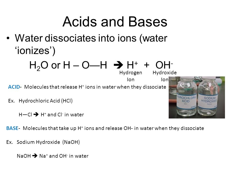 Water pH Organic Chemistry - ppt video online download