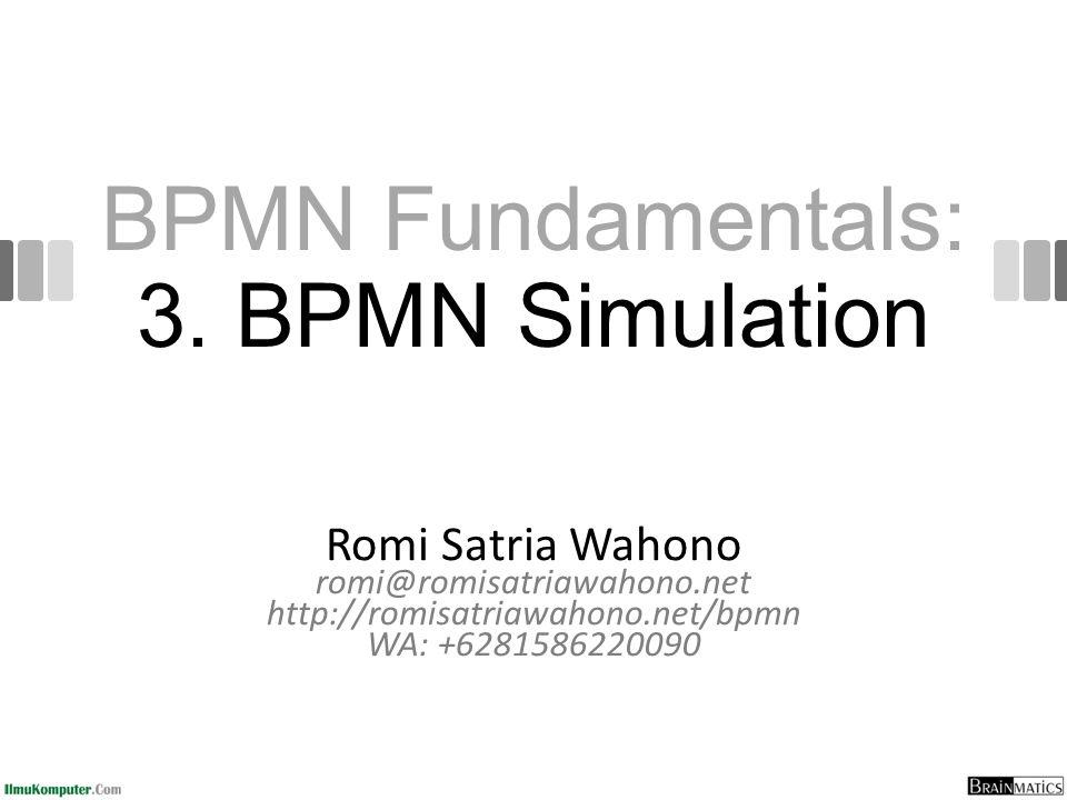 bpmn simulation - Bpmn Simulation