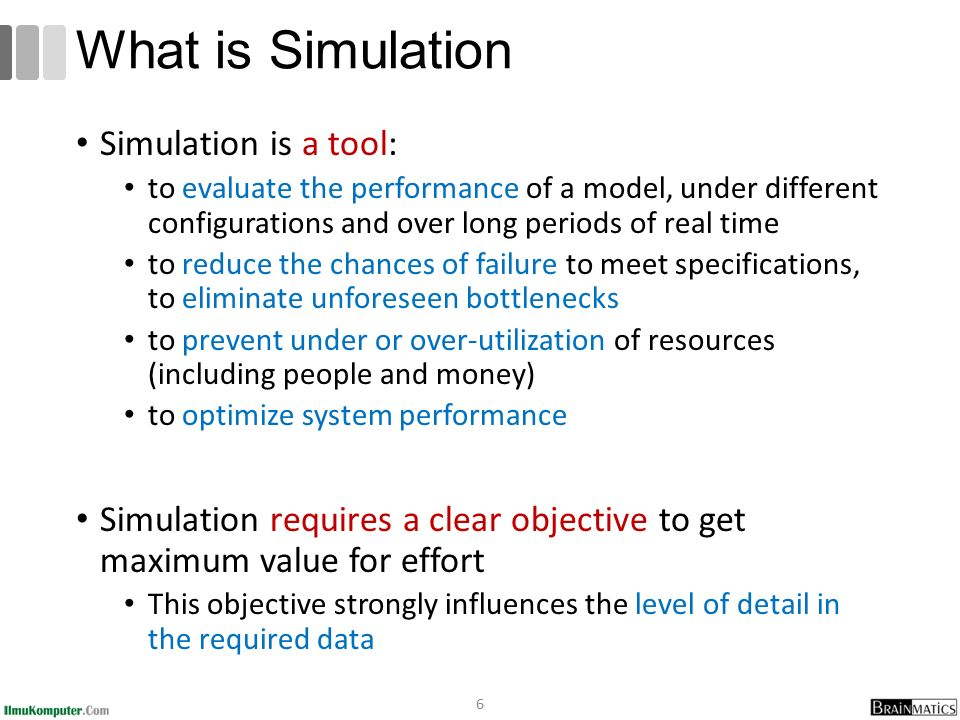 what is simulation simulation is a tool - Bpmn Simulation