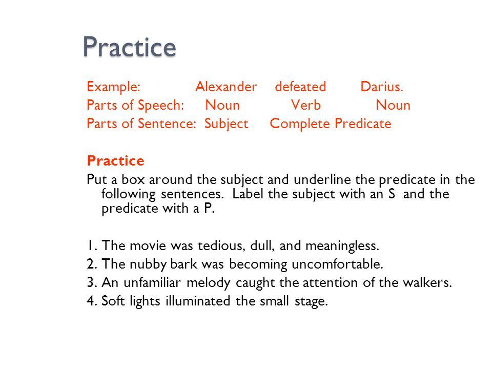 parts of speech practice pdf