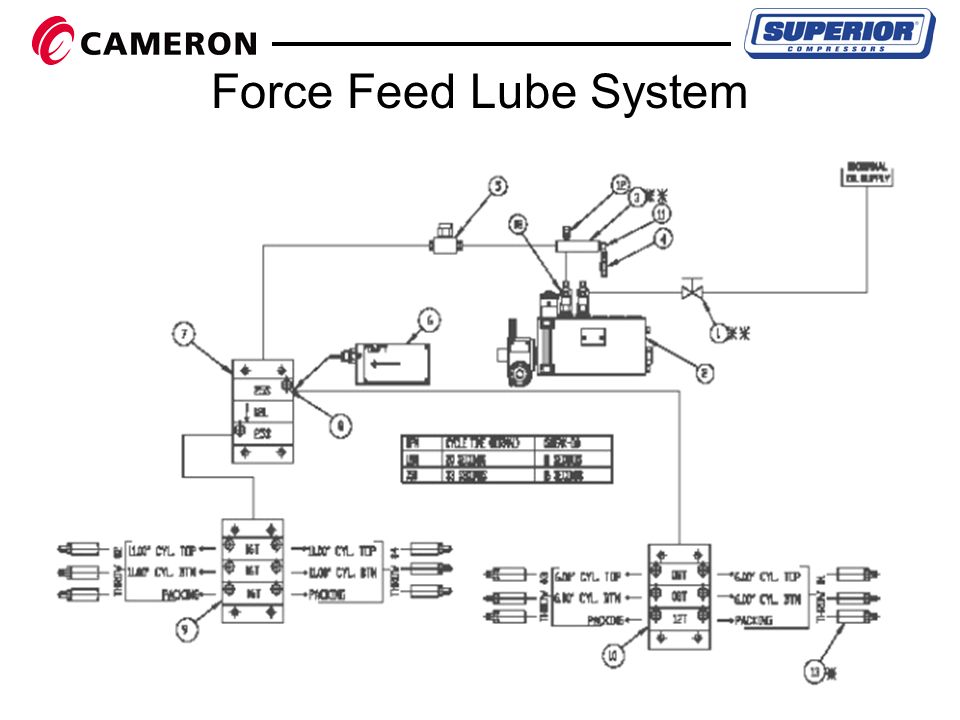 force feed lubricator system