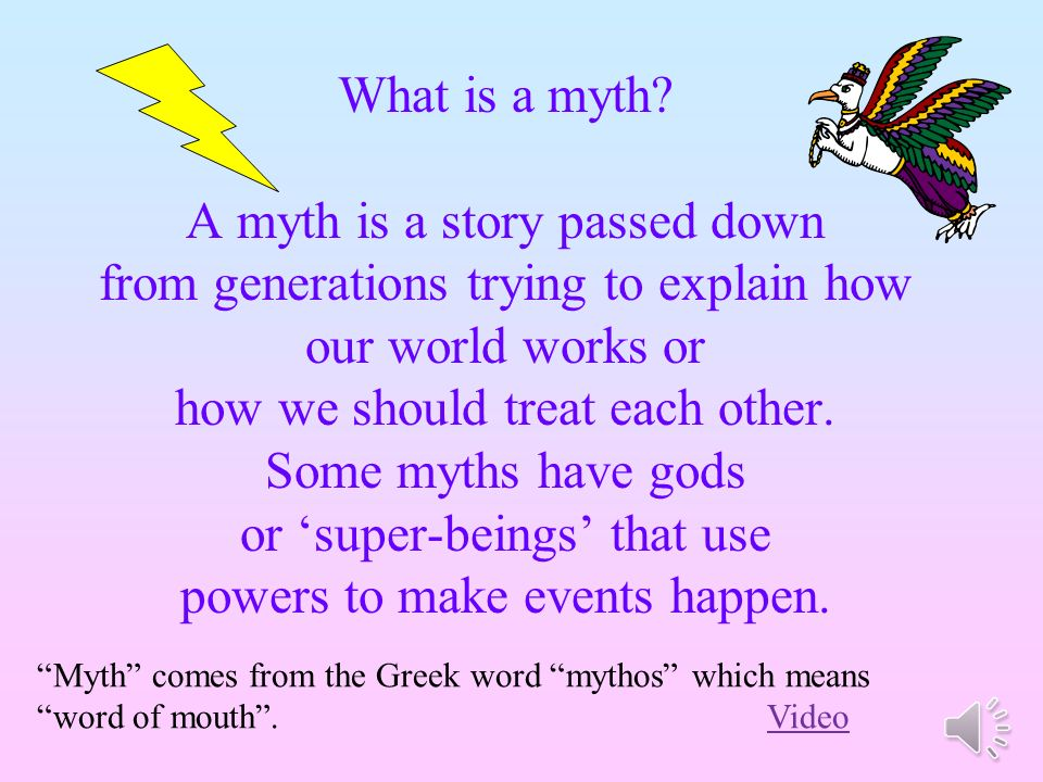 myth or folks The atlantis-style myths that turned out to be true  the science of seeking to find the real geological event underlying a myth or legend to which it has given.