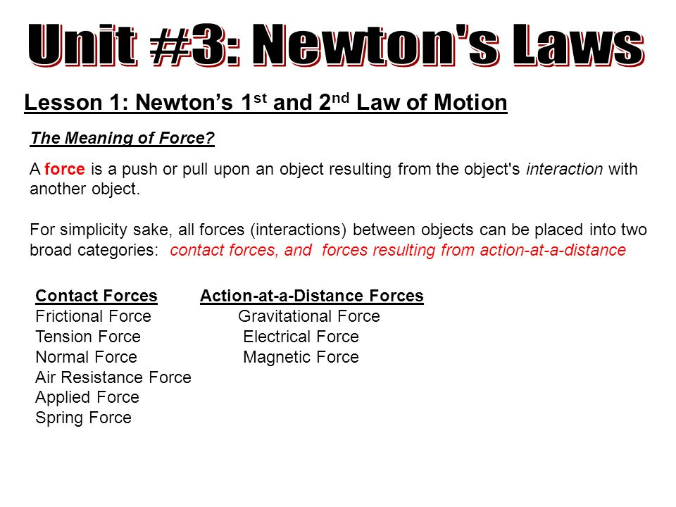 Law Of Interaction