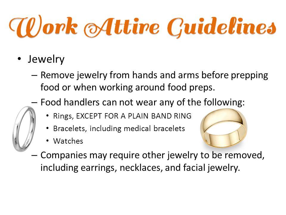 jewelry food handlers can wear style guru fashion
