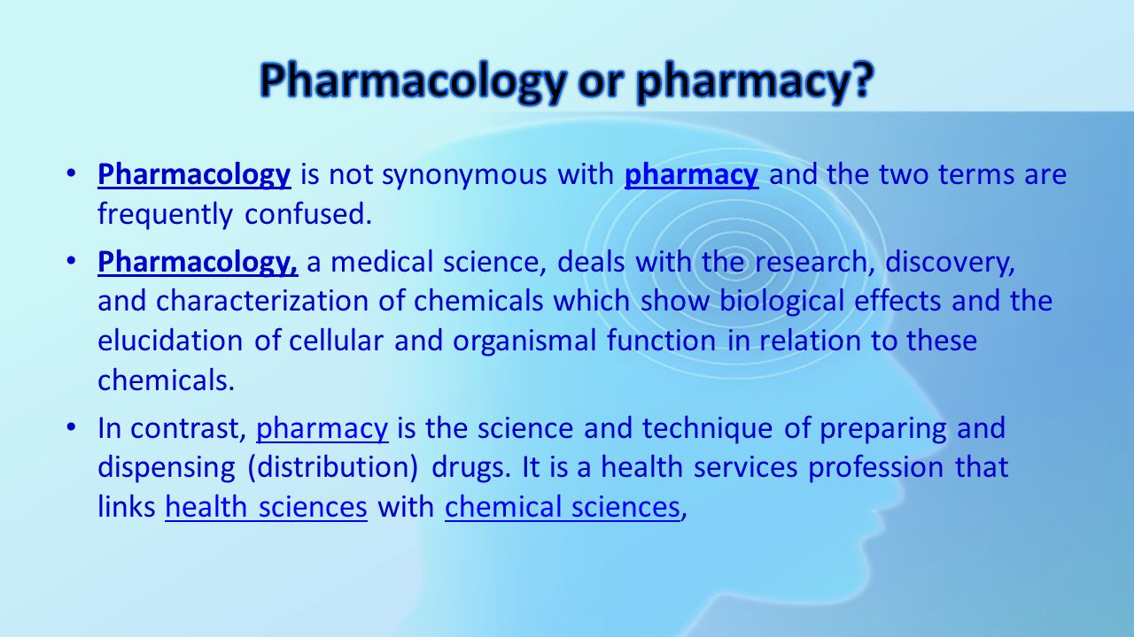 an analysis of the science of pharmacology in medical research Graduates with training in pharmacology have the opportunity to pursue a variety of careers many will elect for additional post-graduate study and a career as a research pharmacologist or apply for post-graduate medicine courses.