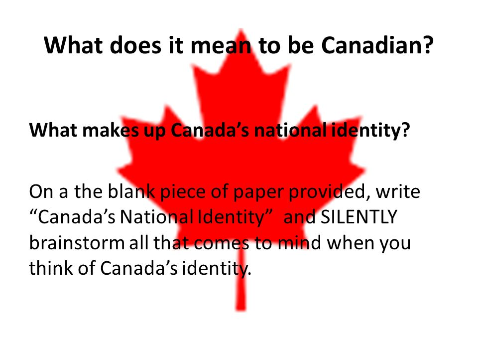 what does it mean to be canadian에 대한 이미지 검색결과